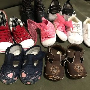Other - Bundle (7) of Baby girl shoes